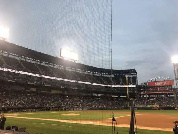 Guaranteed Rate Field, section: Box 121, row: 7, seat: 8