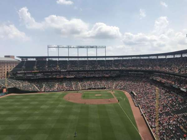 Oriole Park at Camden Yards, section: 382, row: 15, seat: 8