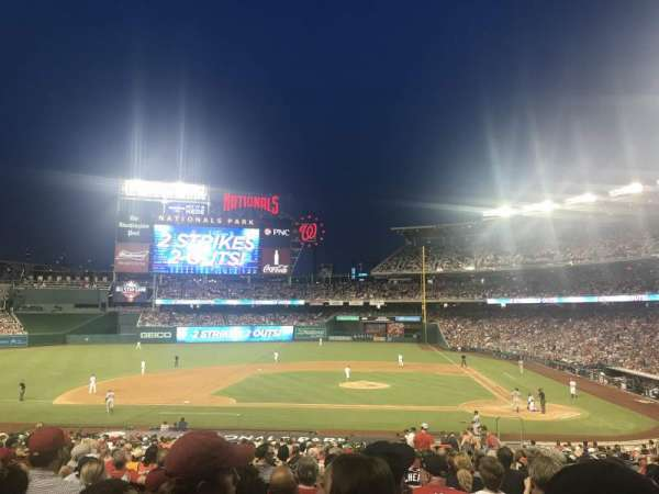 Nationals Park, section: 117, row: NN, seat: 4