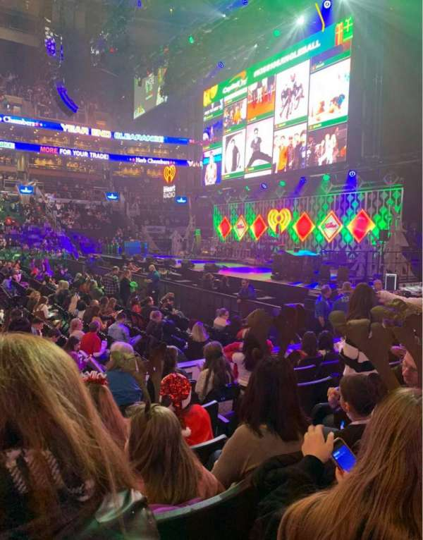 TD Garden, section: 21, row: 7, seat: 18