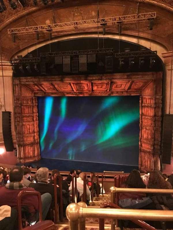St. James Theatre, section: MEZZ, row: CC, seat: 2