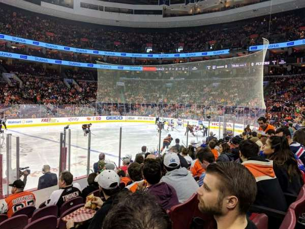Wells Fargo Center, section: 101, row: 9, seat: 2