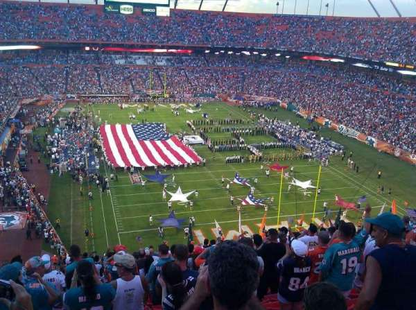 Hard Rock Stadium, section: 430, row: 19, seat: 23