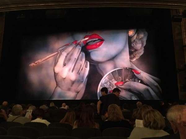 Nederlander Theatre, section: Orchestra, row: M, seat: 103