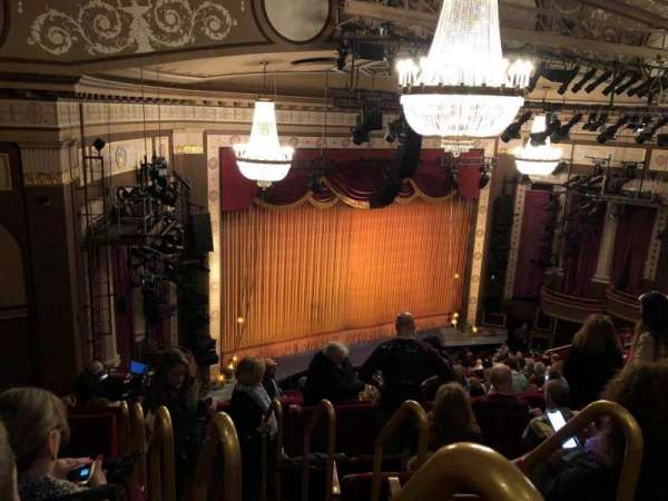 Imperial Theatre, section: Rear Mezz, row: F, seat: 1