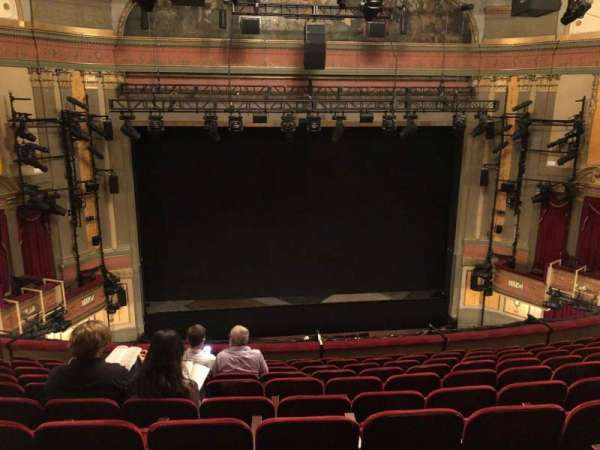 Neil Simon Theatre, section: FMEZZ, row: K, seat: 107