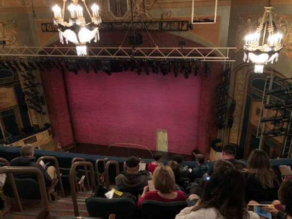 Shubert Theatre, section: Balcony, row: G, seat: 6