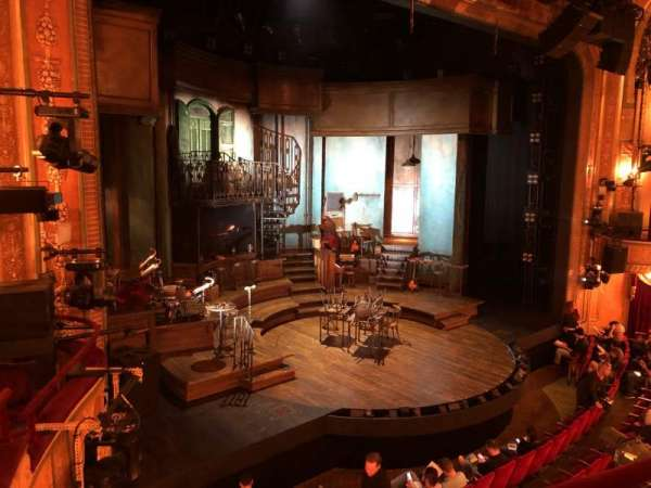 Walter Kerr Theatre, section: Mezz, row: B, seat: 19