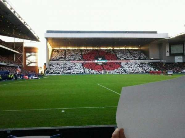 Ibrox Stadium, section: CF5, row: B, seat: 0133