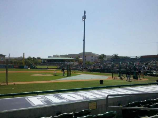Roger Dean Chevrolet Stadium, section: 119, row: 5, seat: 5