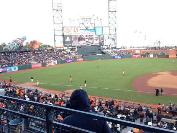 AT&T Park, section: 223, row: A, seat: 11
