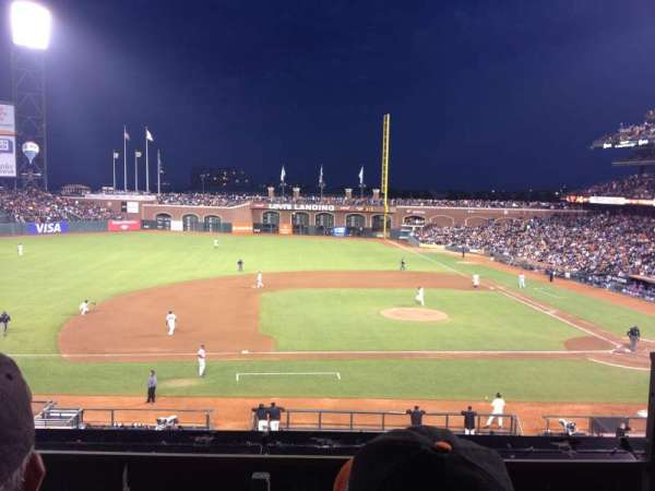 AT&T Park, section: 223, row: B, seat: 2