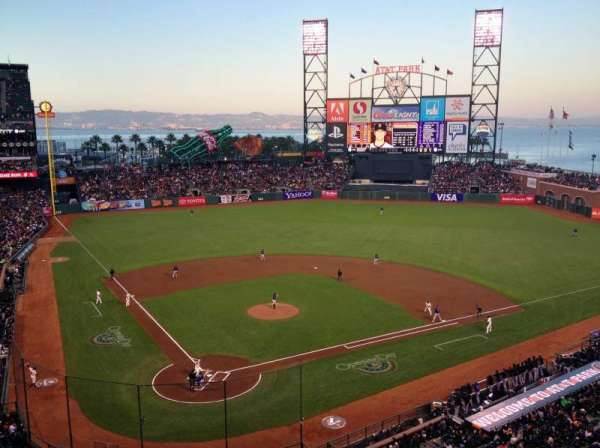 AT&T Park, section: 313, row: A, seat: 2