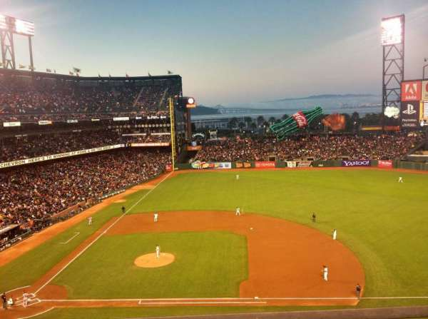 AT&T Park, section: VB 308, row: A, seat: 2