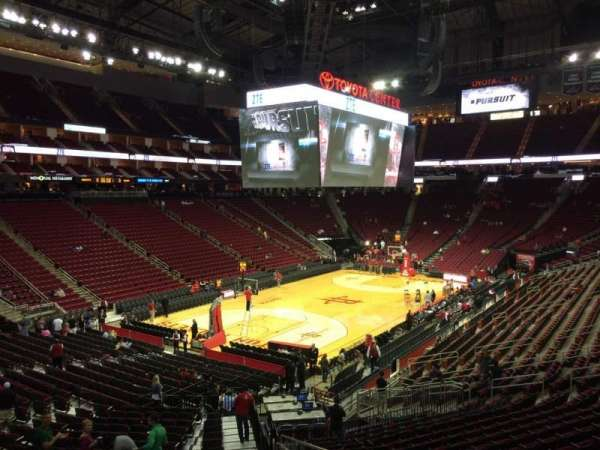 Toyota Center, section: 125, row: 26, seat: 1