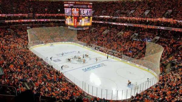 Wells Fargo Center, section: 217, row: 6, seat: 3