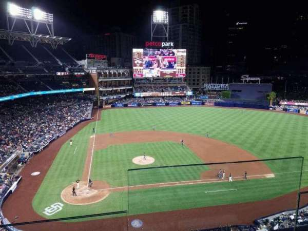 PETCO Park, section: UB307, row: 2
