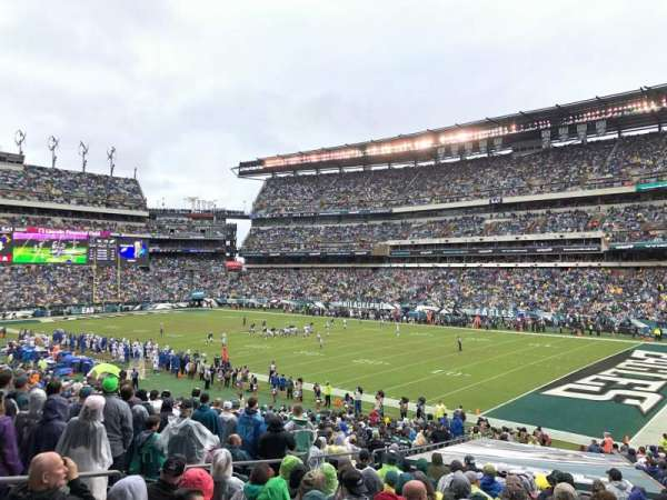 Lincoln Financial Field, section: 125, row: 33, seat: 22