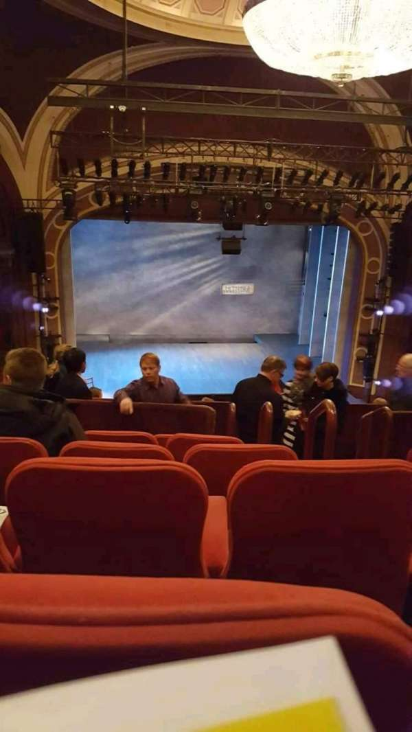 Broadway Theatre - 53rd Street, section: Ctr/left Mezzanine, row: F, seat: 104