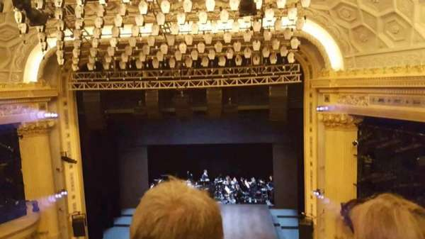 Hudson Theatre, section: Center Balcony, row: B, seat: 113