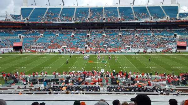Hard Rock Stadium, section: 246, row: 15, seat: 12