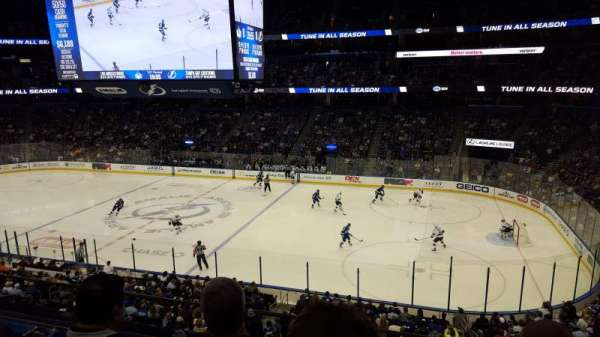 Amalie Arena, section: TBTLFA, row: GA, seat: 1