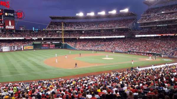 Nationals Park, section: 113, row: UU, seat: 1