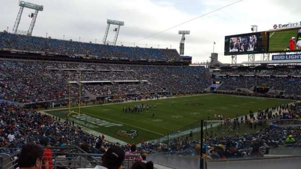 TIAA Bank Field, section: 217, row: H, seat: 12