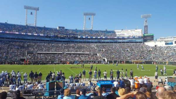 TIAA Bank Field, section: 37, row: J, seat: 17