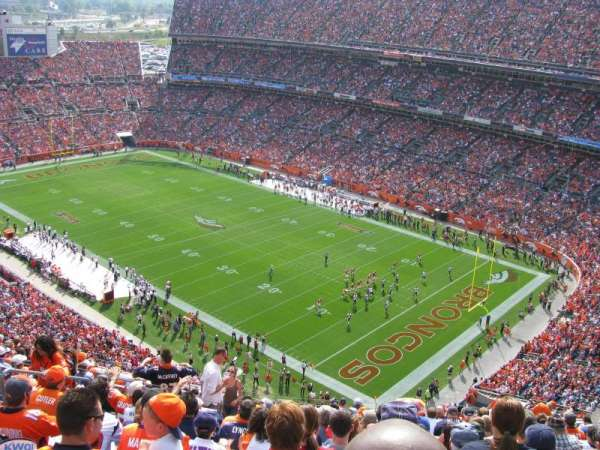 Broncos Stadium at Mile High, section: 527, row: 18, seat: 19