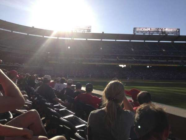 Angel Stadium, section: F131, row: C, seat: 16