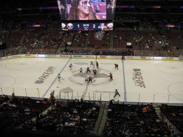BB&T Center, section: Club 17, row: 1