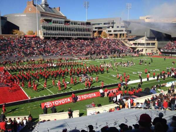 Nippert Stadium, section: 110, row: 31, seat: 39