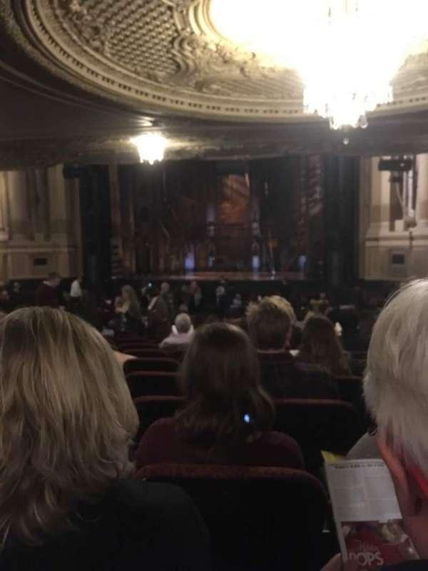 Boston Opera House, section: ORCHRC, row: W, seat: 22