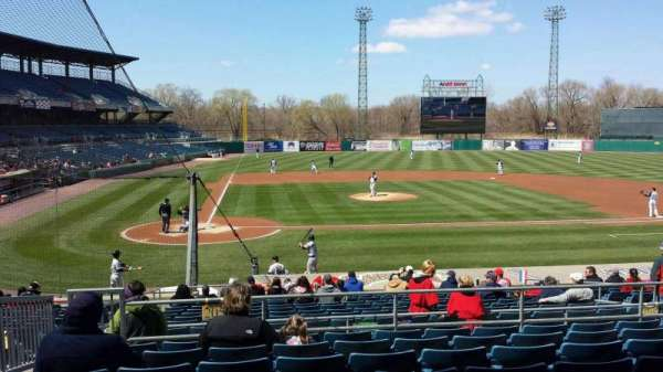 Nbt Bank Stadium, section: 205, row: 8, seat: 20