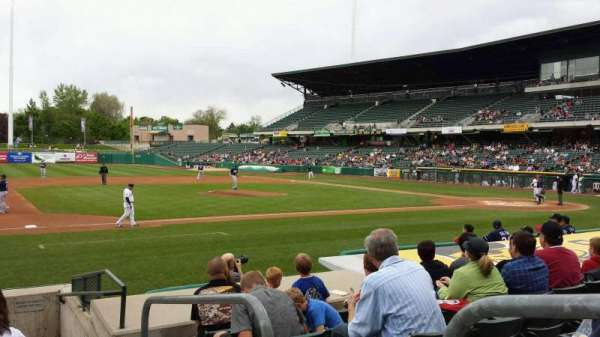 Smith's Ballpark, section: 19, row: 10, seat: 1