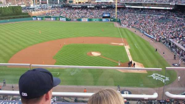 Comerica Park, section: 332, row: B, seat: 12