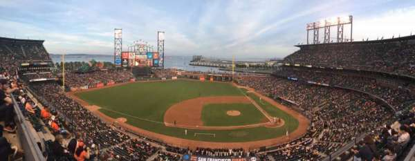 AT&T Park, section: View Box 323, row: D, seat: 10