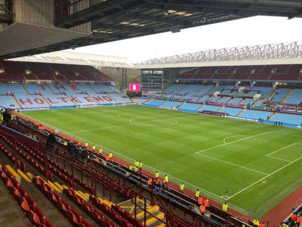 Villa Park, section: P11, row: NN, seat: 4