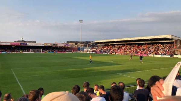 Bootham Crescent, section: Away Standing, row: Turnstiles 14 to 21, seat: 766