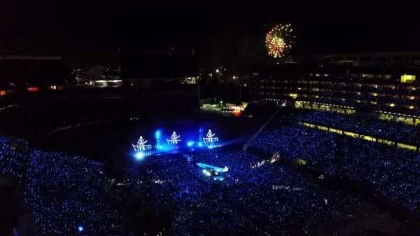 Levi's Stadium, section: 402, row: 19, seat: 9