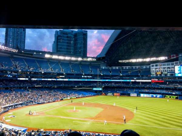 Rogers Centre, section: 217R, row: 11, seat: 8