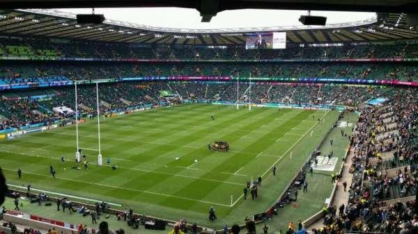 Twickenham Stadium, section: M42, row: 71, seat: 87