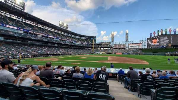 Guaranteed Rate Field, section: 124, row: 13, seat: 1