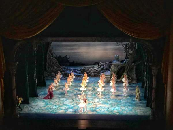 Metropolitan Opera House - Lincoln Center, section: Balcony, row: B, seat: 110