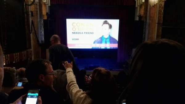 Paramount Theatre (Denver), section: Club L, row: G, seat: 3
