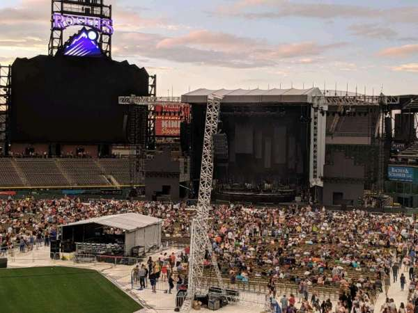 Coors Field, section: 225, row: 5, seat: 8