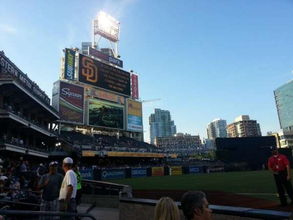 PETCO Park, section: FZ116, row: 3, seat: 14