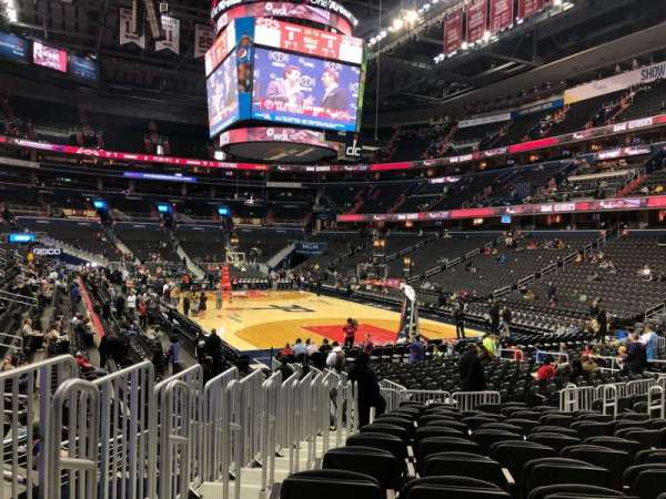 Capital One Arena, section: 104, row: N, seat: 5