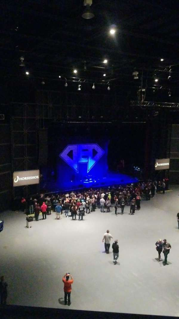 The Venue at Horseshoe Casino (Hammond), section: 306, row: A, seat: 12,13